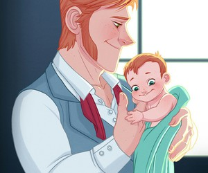 father, frozen, and disney prince image