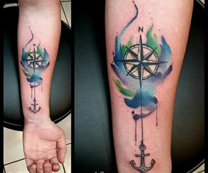arm, boy, and compass image