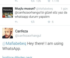 tweet, twitter, and whatsapp image