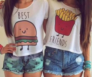 Best, bff, and fries image