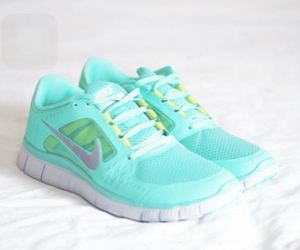 fitness, girly, and nike image