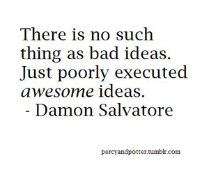 quote, damon salvatore, and damon image