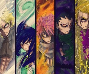 fairy tail, natsu, and wendy image