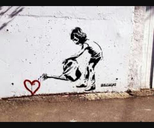 amazing, bansky, and street art image