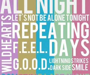 dark side, smile, and all night image