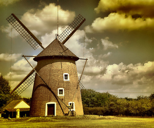 hungary, flickr estrellas, and windmill image