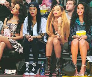 rihanna, swag, and a image
