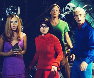 scooby doo and sarah michelle gellar image