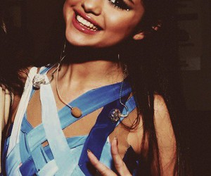 beautiful, selena, and blue image