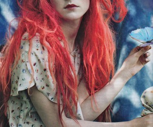 Saoirse Ronan and red hair image