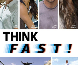 the best movie, fast and furious7, and think fast image