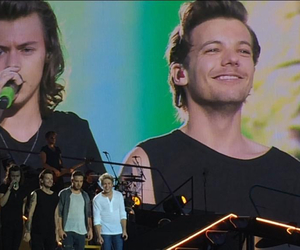 brussels, harrystyles, and louistomlinson image