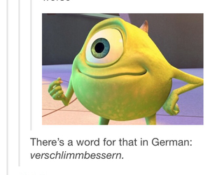 disney, funny, and german image
