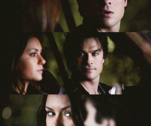 look and delena image
