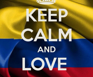 colombia, love, and futbol image