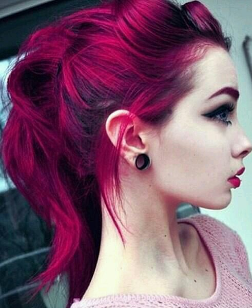 ponytail and hair goals image