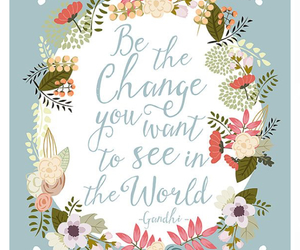 change, flowers, and world image