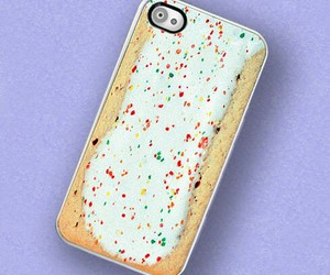 iphone, case, and pop tart image