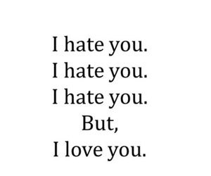 quote, ily, and like image