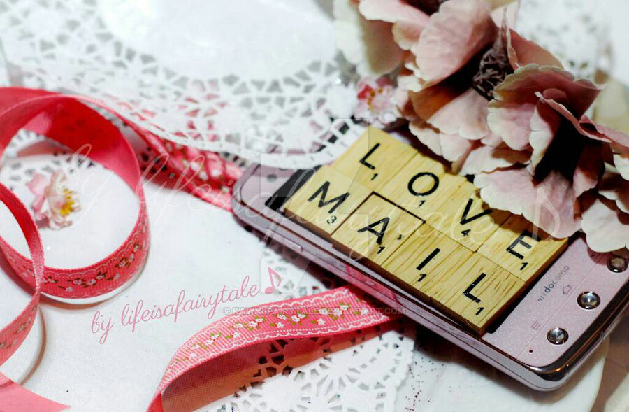 communication, couple, and Letter image