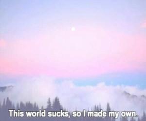 world, quotes, and sucks image