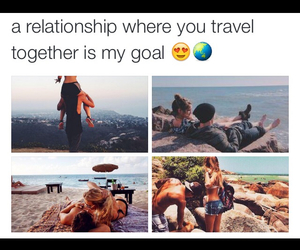 goals, travel, and Relationship image