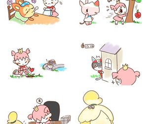 animal crossing, cute, and acnl image