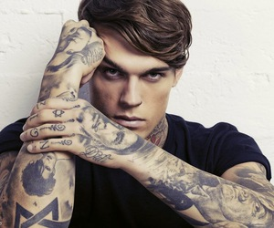 stephen james, tattoo, and boy image