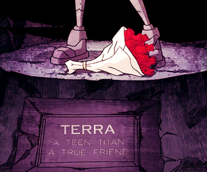 terra and teen titans image