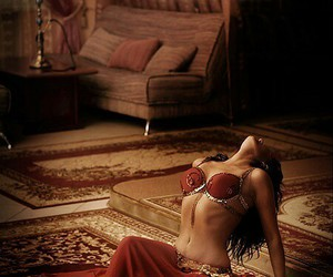 arabic, bellydance, and dance image
