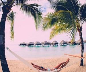 beach, girl, and nap image