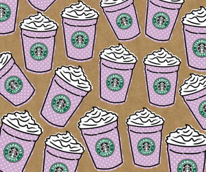 background, cool, and starbucks image