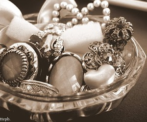 fashion, hearts, and rings image
