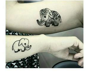 art, body, and elefante image