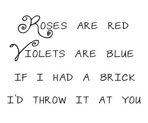 rose, brick, and quote image