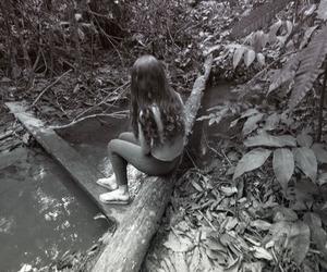 alone, grunge, and sadness image