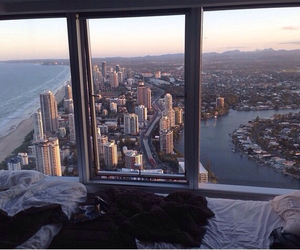 city, view, and bed image