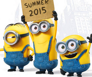 minions, summer, and 2015 image