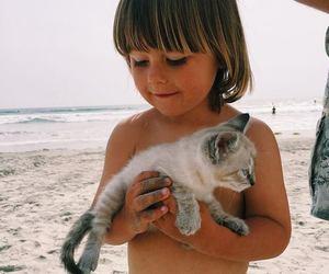 cute, beach, and boy image