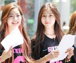 sixteen, chaeryoung, and dayeon image