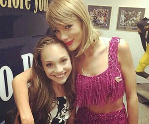 Taylor Swift and maddie ziegler image