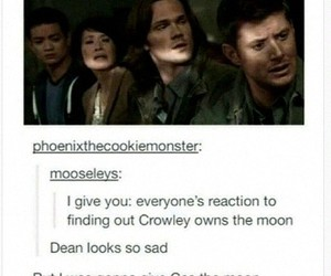 crowley, kevin, and Sam image