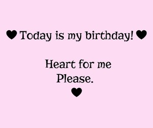 birthday, followers, and heart image