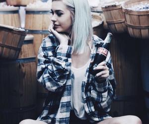 amanda steele, hair, and coca cola image