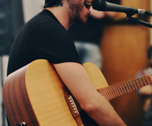 acoustic, all time low, and guitar image