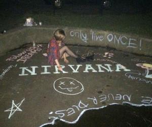 nirvana, grunge, and bands image