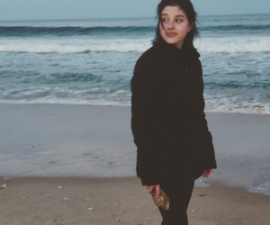 beach, photography, and girl image