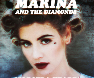marina and the diamonds, electra heart, and music image
