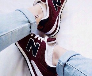 color, new balance, and shoes image