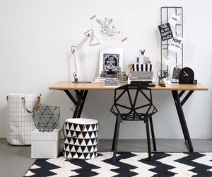 black, interior, and styling image